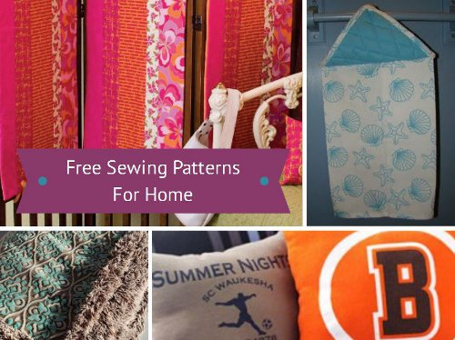 Free Sewing Patterns for Home