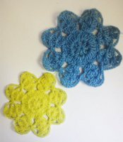 Grandma's Magic Crocheted Flower Pattern