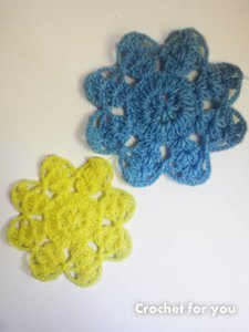 Grandma's Magic Crochet Flower