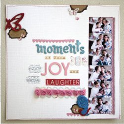 Moments of Joy Layout