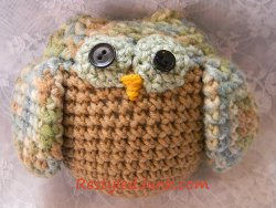 Simple Crochet Owl Toy