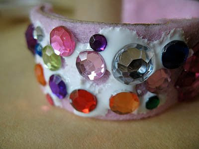 Pretty Recycled Princess Bracelet