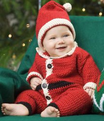 Santa Suit & Hat for Baby