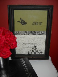 Quick and Easy Shadow Box