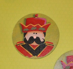 Meggan's Toy Soldier Gift Tag