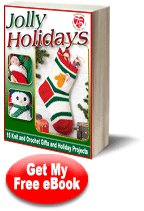 Red Heart Yarns Jolly Holidays free eBook