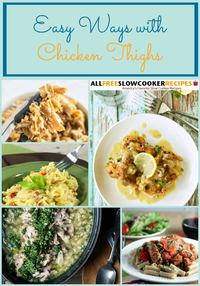 8 Of Our Best Slow Cooker Chicken Thighs Recipes