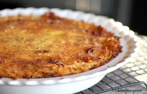 Hashbrown Egg Pie