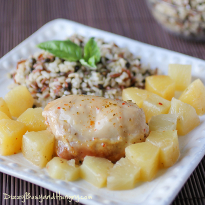 4 Ingredient Hawaiian Pineapple Chicken