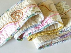 Half Moon Quilted Scarf Favequilts Com