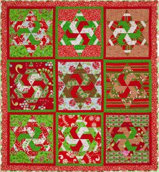 174 Christmas Quilt Patterns and Projects | FaveQuilts.com : fave quilts - Adamdwight.com