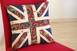 Union Jack Patchwork Cushion Cover Favequilts Com