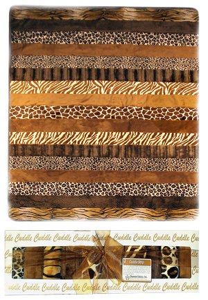 Animal Print Cuddle Quilt Kit | FaveQuilts.com : leopard print quilts - Adamdwight.com