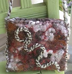 Felted Mini Handbag