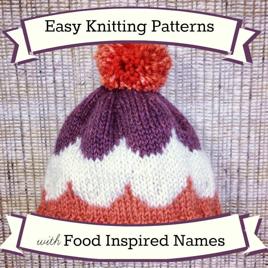 36 easy knitting patterns with food inspired names 36 easy knitting patterns with food inspired names bankloansurffo Gallery