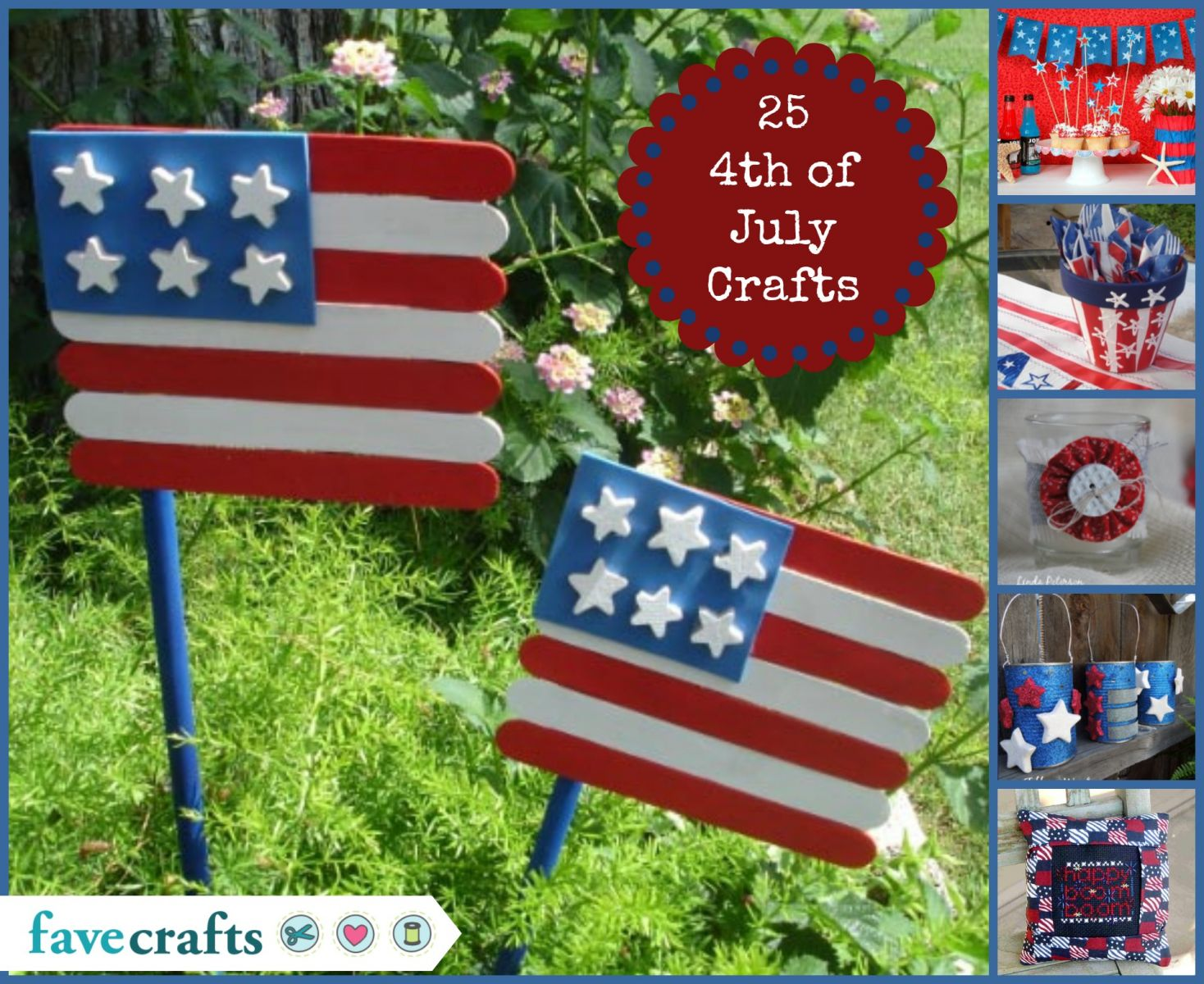 25 4th of July Crafts