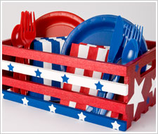 4th of july picnic crate
