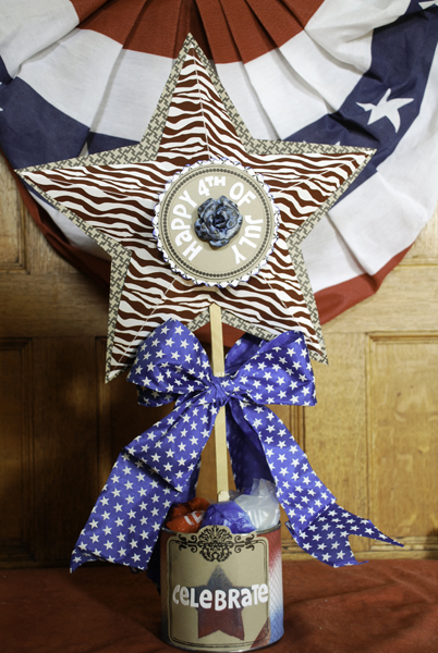Fourth of July Centerpieces Side 1