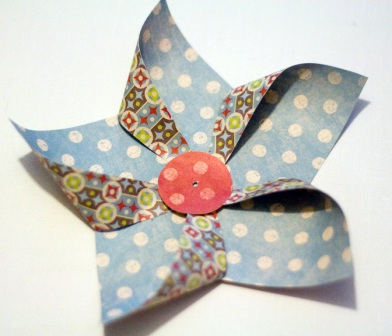 Star Pinwheel Step 2