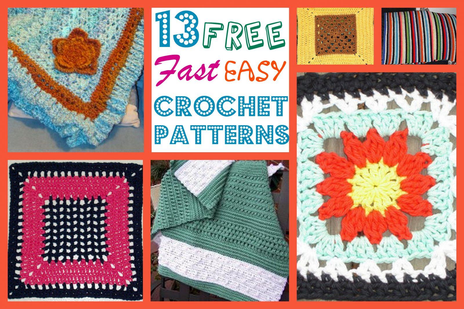 13 free fast easy crochet patterns 13 free fast easy crochet patterns bankloansurffo Gallery