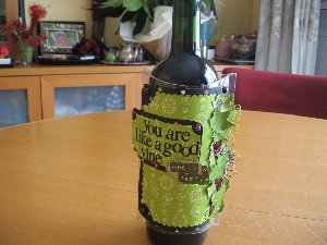 Better with Age Wine Bottle Cozy