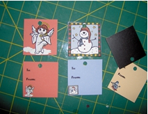 Gift Tag Magnets 2