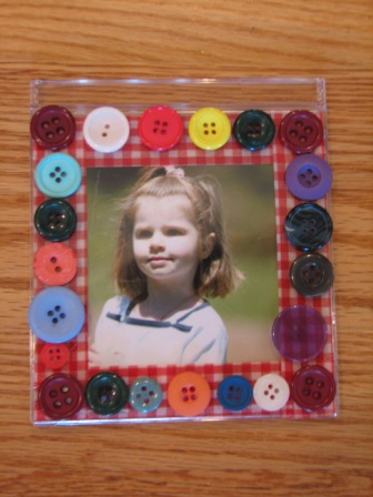 CD Case Picture Frame