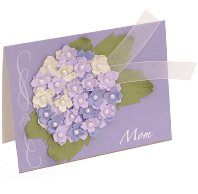 lilac card for mom