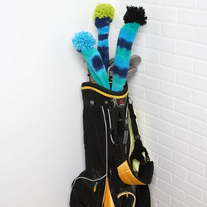 psychedelic golf club covers
