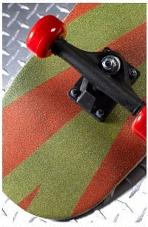 Radical Stripes Skateboard