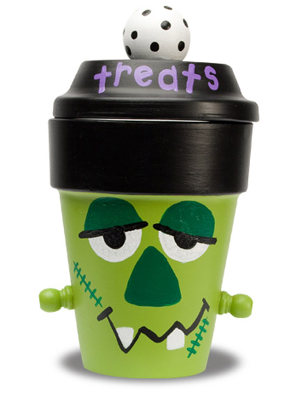 Frankenstein Treat Jar