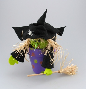 Broomstick Witch