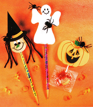 Halloween Pencil Tops