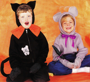 Cat and Mouse Halloween Cosutme