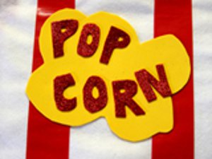 Kiddie Sized Popcorn Costume