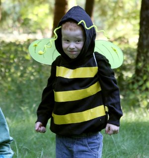 No Sew Honeybee Costume