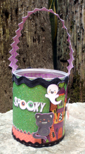 Spooky Halloween Candy Container