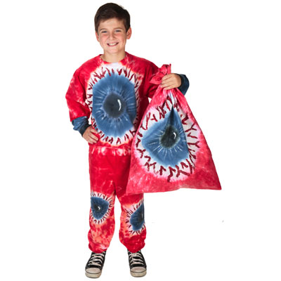 Tie-Dye Eyeball Halloween Costume