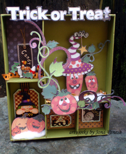 Trick or Treat Halloween Decor