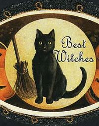 Best Witches Halloween Card