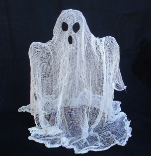 floating ghost