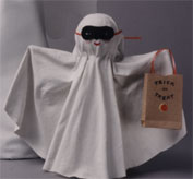 Masked Ghost Halloween Decoration