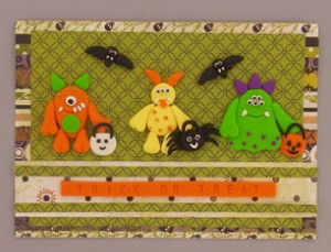 monster mash card
