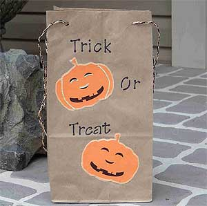 Trick or Treat Party Bag