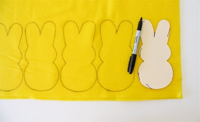 Cutting Out Bunny Peeps