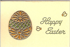 Mini Easter Egg Card