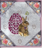 Small Easter Bunny Card