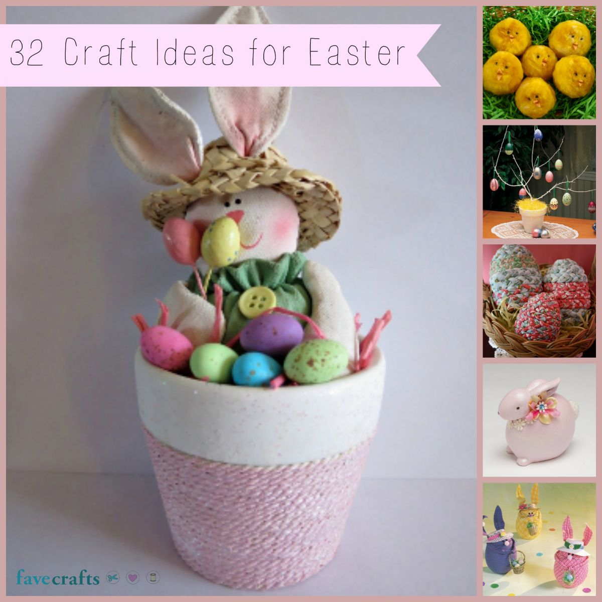 32 Craft Ideas for Easter