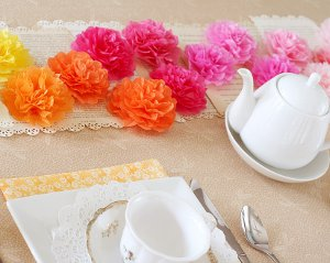 24 Knockout Tissue Paper Flowers