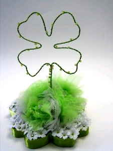 Shamrock Centerpiece